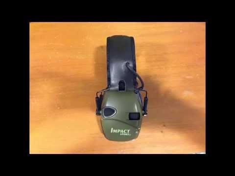0514d02c1bea7 Revisão (Review) do Abafador Eletrônico Howard Leight - YouTube