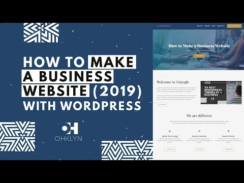 How to Make a Business Website (2018) | WordPress Tutorial for Beginners
