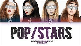 Your Girl Group (너의 여자 그룹) – 「POP/STARS」(ORIGINAL K/DA) (Color Coded Lyrics Han|Rom|Eng)