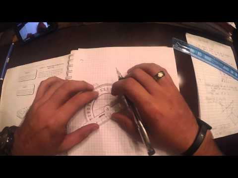 Find True Dip using Orthographic Projection