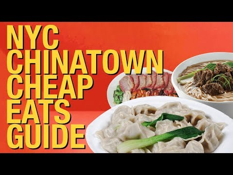 Where To Eat In Chinatown NYC ? 10 BEST Cheap Food Joints  ! 🍜