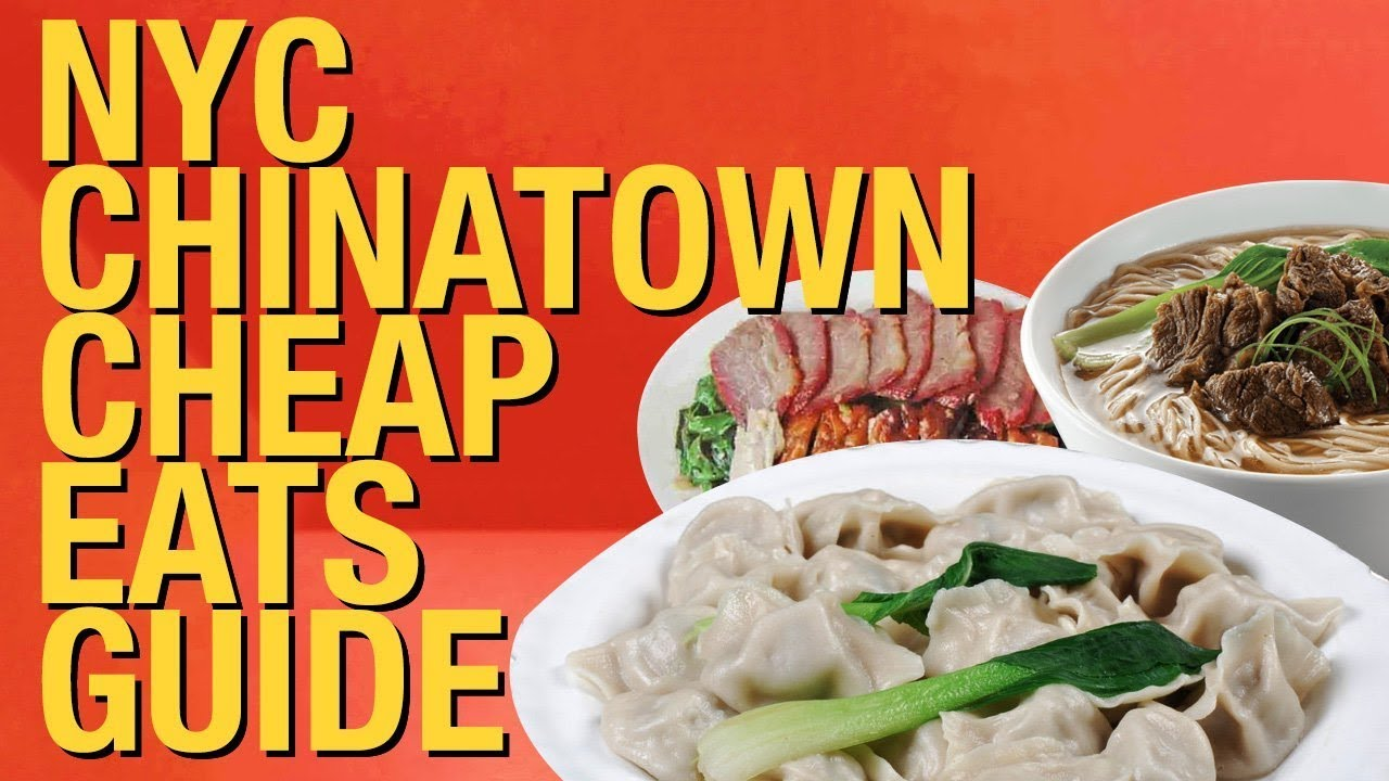 Where To Eat In Chinatown Nyc 10 Best