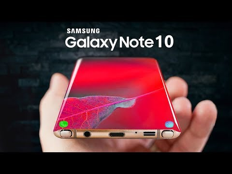 Samsung Galaxy Note 10 - ЛУЧШЕ ЧЕМ ГЭЛЭКСИ S10! БОМБА ОТ САМСУНГ!!!