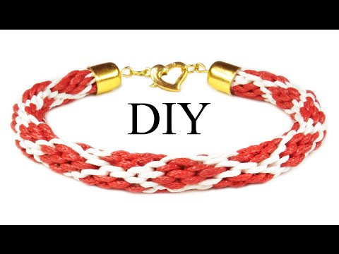DIY: Kumihimo bracelet