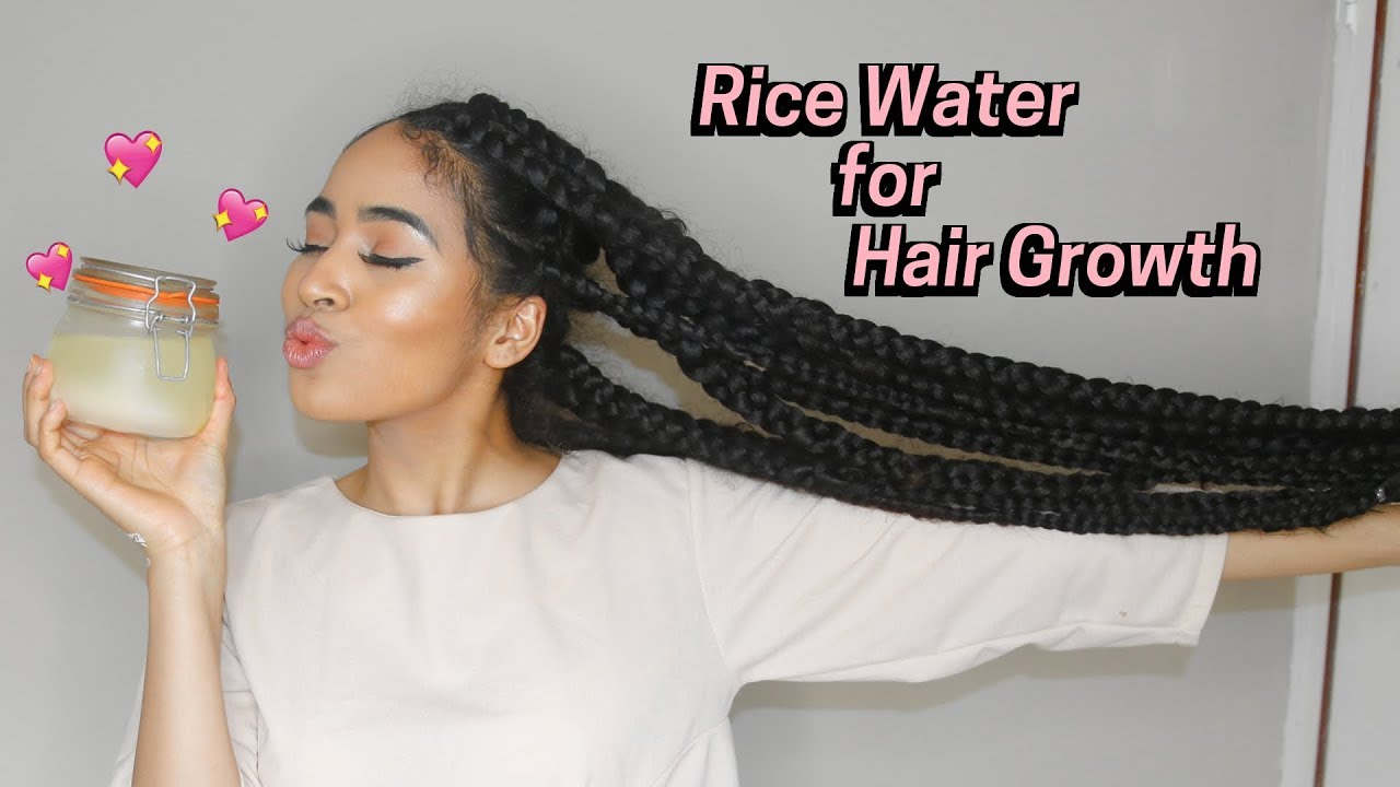 How to make rice water for hair wash