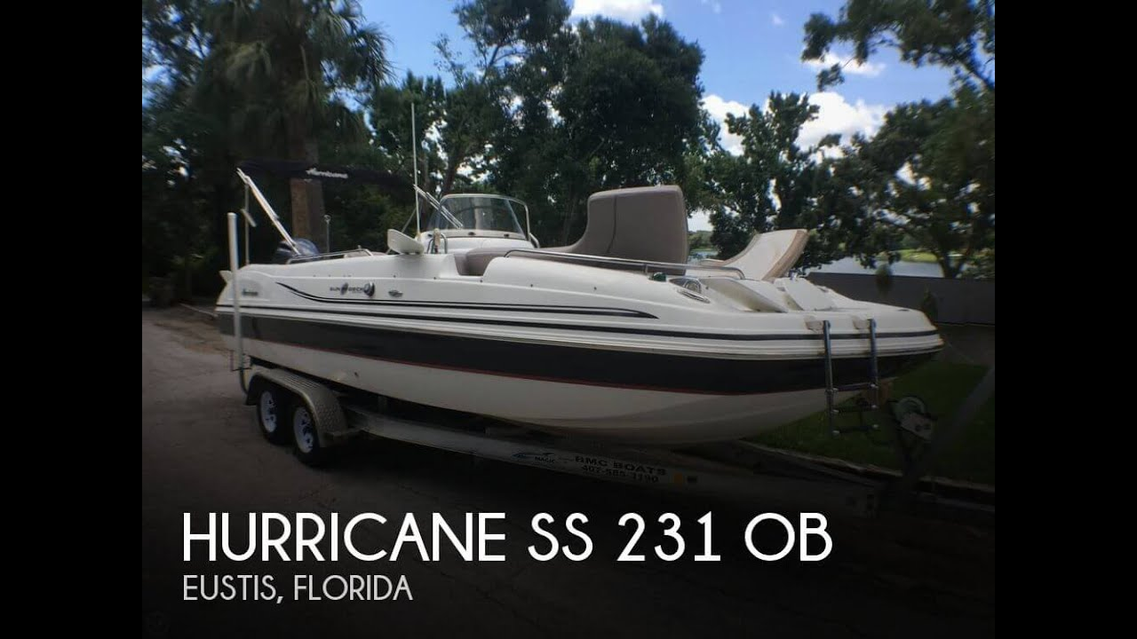 Unavailable Used 2015 Hurricane Ss 231 Ob In Eustis Florida