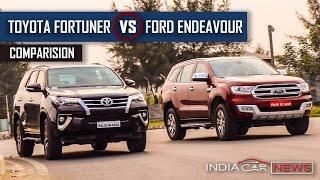 Toyota Fortuner vs Ford Endeavour 2016 - Hindi | ICN Studio