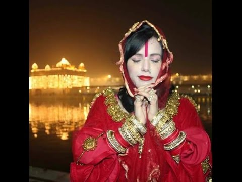 Image result for radhe maa in golden temple image