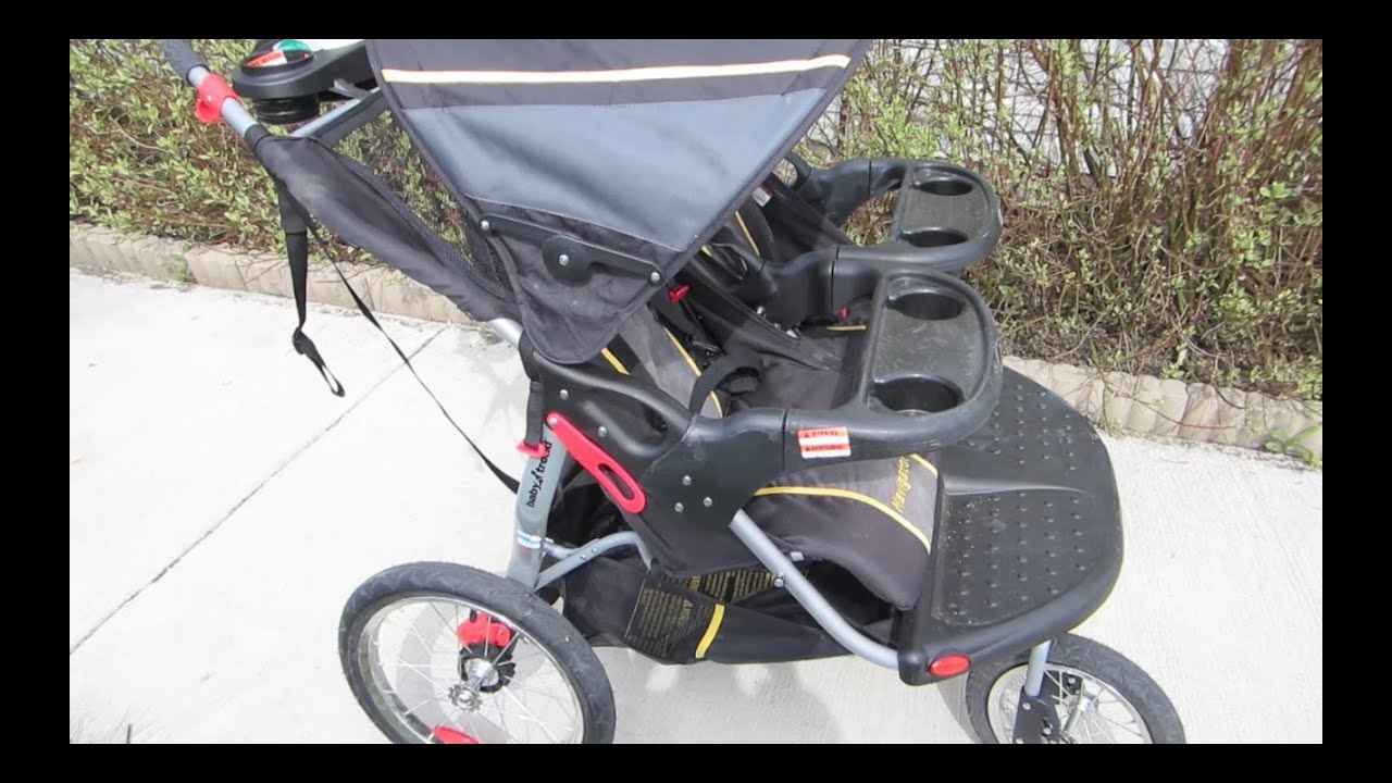 baby trend navigator double jogging stroller manual