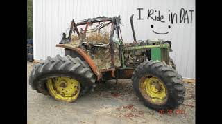 Big Green Tractor Song Remix (LOUD AND SLOW!!!!)