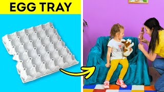 28 NEW WAYS OF USING EGG TRAYS YOU CAN EASILY REPEAT || Smart Hacks With Ice Cube Trays!