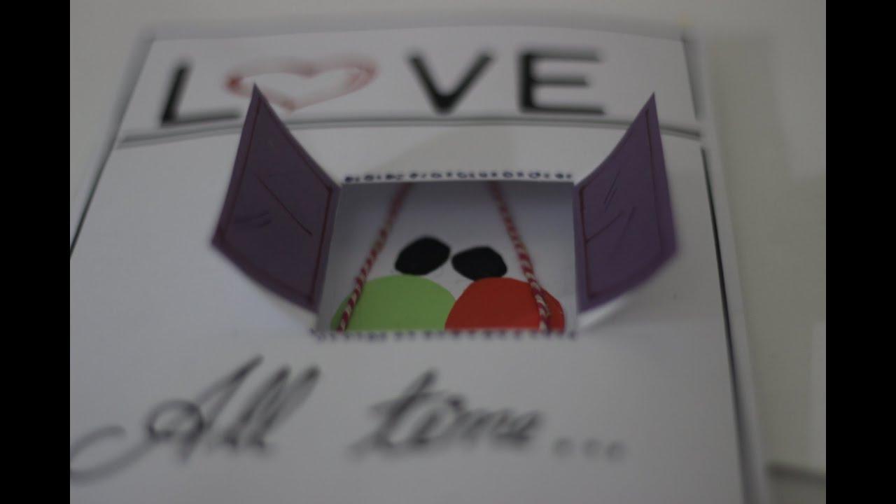 Diy beautiful love greetings card you and me handmade card 6 diy beautiful love greetings card you and me handmade card 6 kristyandbryce Image collections