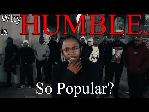 Why Is Kendrick Lamar's HUMBLE So Popular? (feat. 12tone)