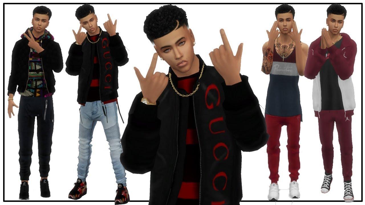 Sims 4 Male Cc Haul Full Cc List Pretty Boy Austin