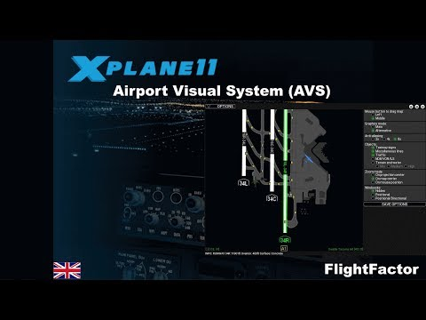 [XP11] Tools of the Trade: FlightFactor Airport Visual System (AVS) [ENG]