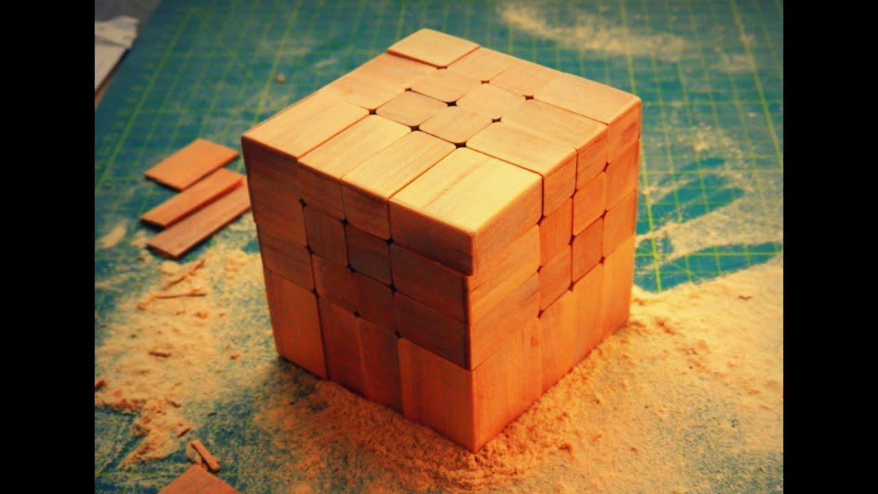 Wooden blocks 4x4x4 cubo 4x4 de madera cubo mirror 4x4 - Cubos de madera ...