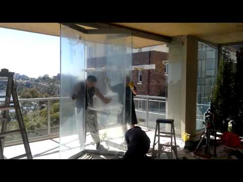 Winsulation Double Glazing Frameless Folding Soundview System Part 1