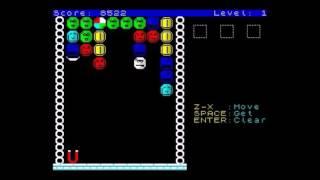 ZX Spectrum Homebrew Game Review - ZOOMBLOX - Fabrizio Zavagli 2016