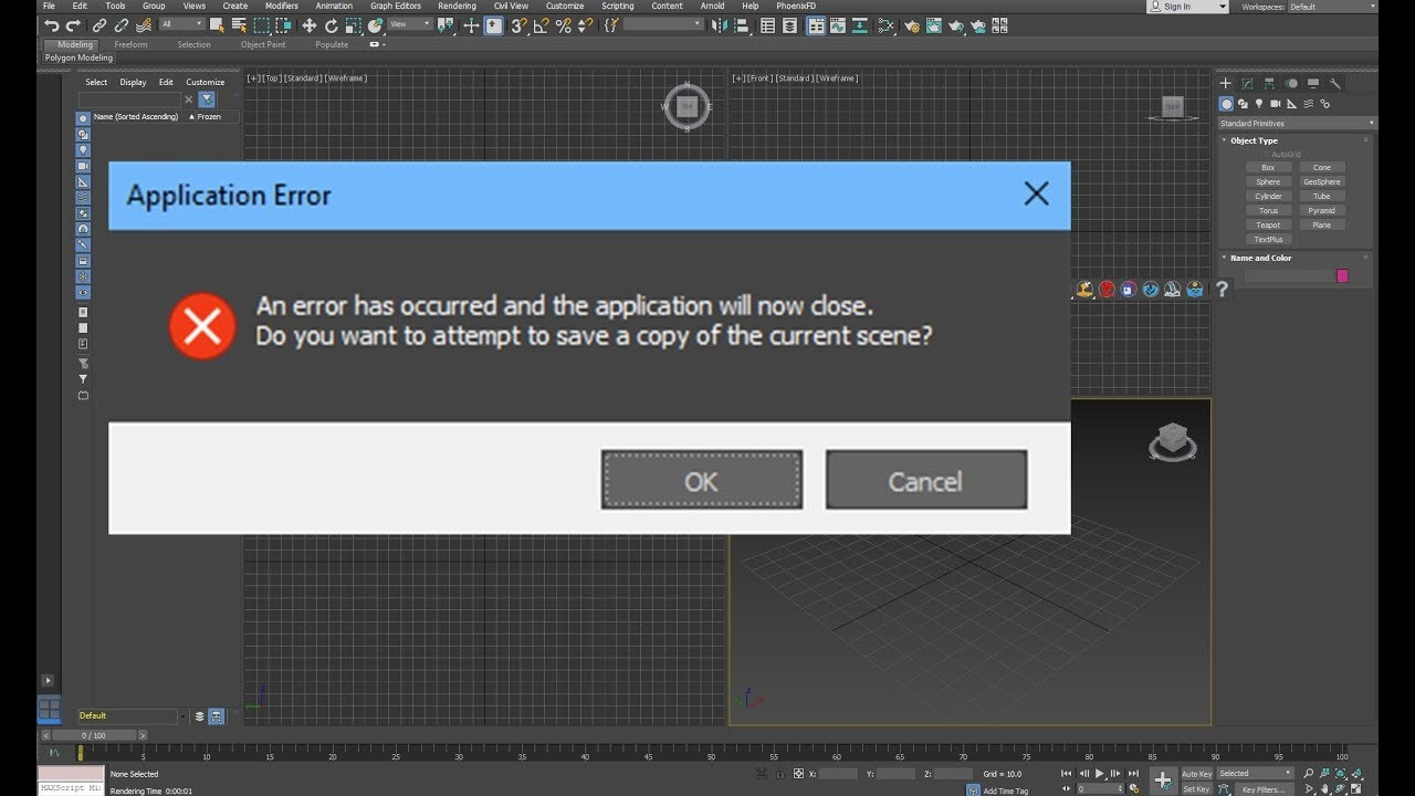 How to Fix the 3ds Max (2018) Crash on startup error - YouTube