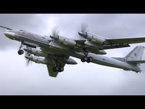 взлёт Ту-95 RF-94124 Кубинка 2019