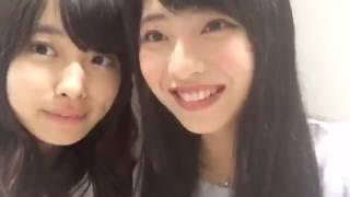 170716 15-30 馬嘉伶 まちゃりん 久保怜音 SHOWROOM AKB48 チームB.