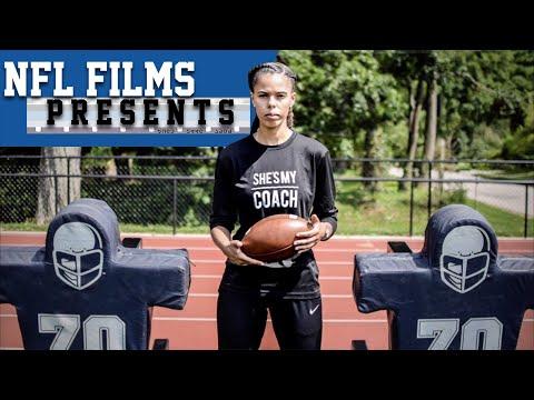 She's My Coach: The Mickey Grace Story   NFL Films Presents