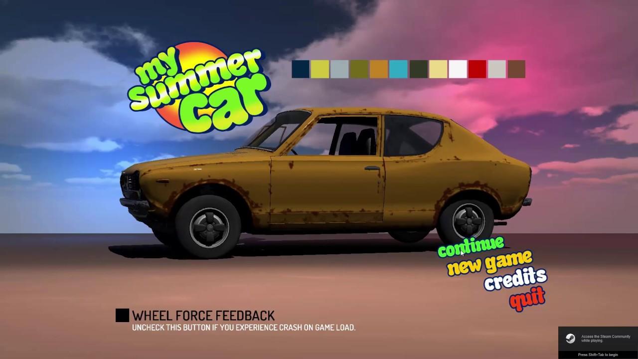 My Summer Car Ilmainen