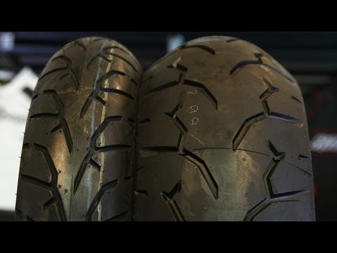 Pirelli Night Dragon Tire Set Motorcycle Super