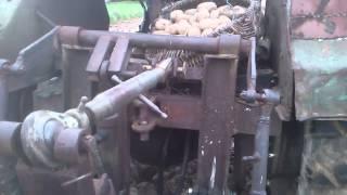 Jedyna taka sadzarka do ziemniaków w Polsce (samoróbka)