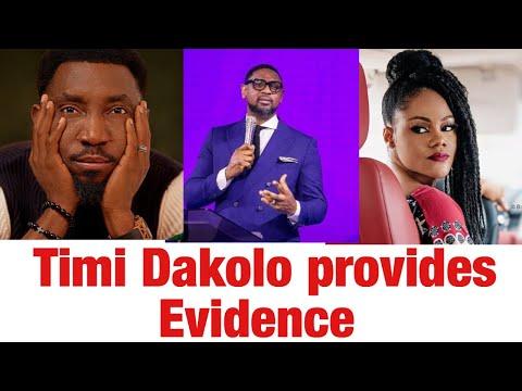 Timi Dakolo Produces Important Evidence to back up his wife Truth Busola Dakolo