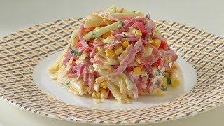 Салат за одну минуту ( объедение ). Salad for one minute.