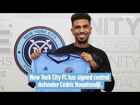 New York City FC Sign Cedric Hountondji