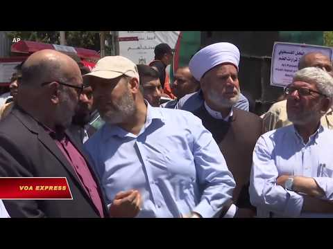 Gaza: 'Ngày phẫn nộ' chống sáp nhập Bờ Tây (VOA)