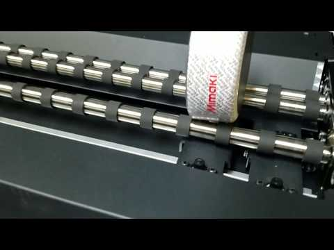 Mimaki UJF-6042MkII printing