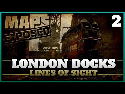 London Docks Lines of Sight & Secret Spots! | Cod WW2 Maps Exposed #2