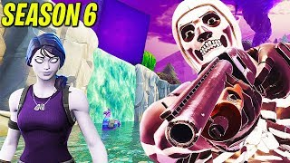 Fortnite Season 6 - Map Changes, Theme, Skins & CUBE Explosion | Chaos