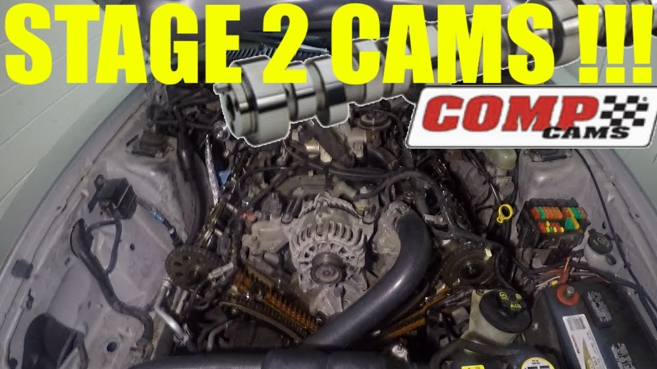 installing stage 2 cams in my 1999-2004 mustang gt   it chops now