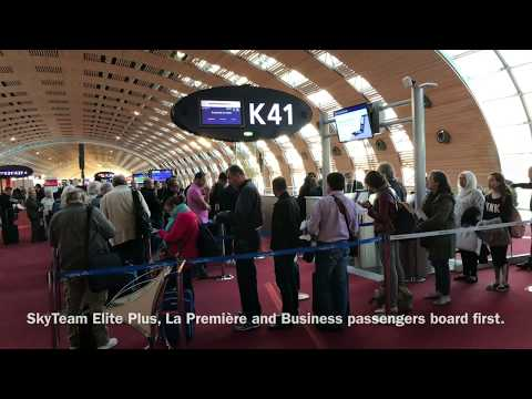 Flying  Air France in Economy Class from Paris to Beirut, Lebanon on Boeing B777-300 ER