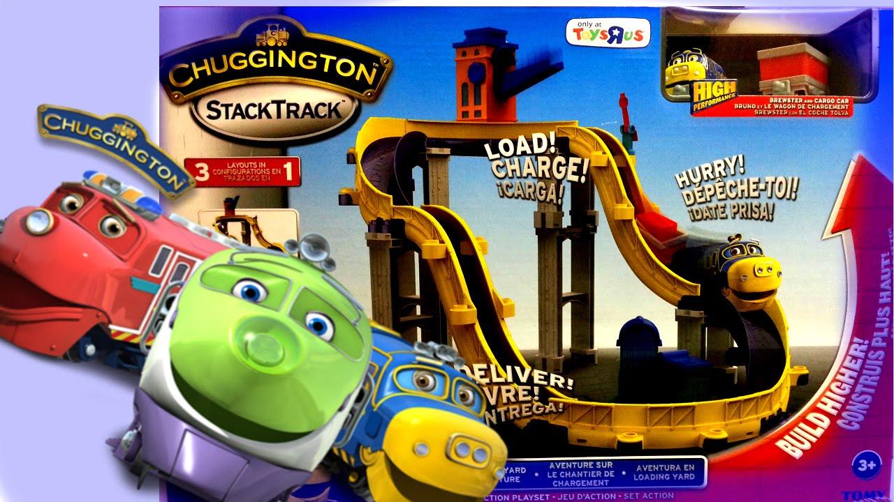 Chuggington Stack Track Train Track Toy Kit Youtube