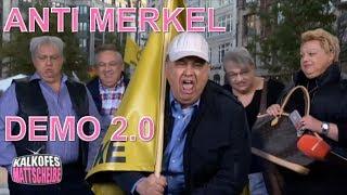 Kalkofes Mattscheibe |  Anti Merkel Demo 2.0