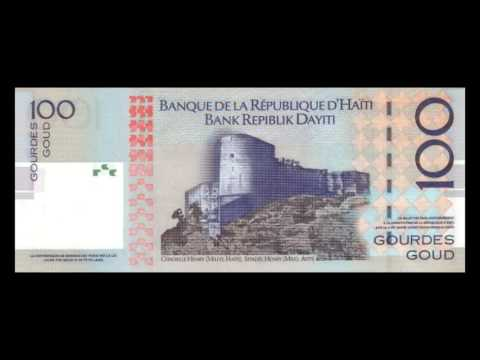 All Haitian Gourde Banknotes - 2001 To 2004 Issues