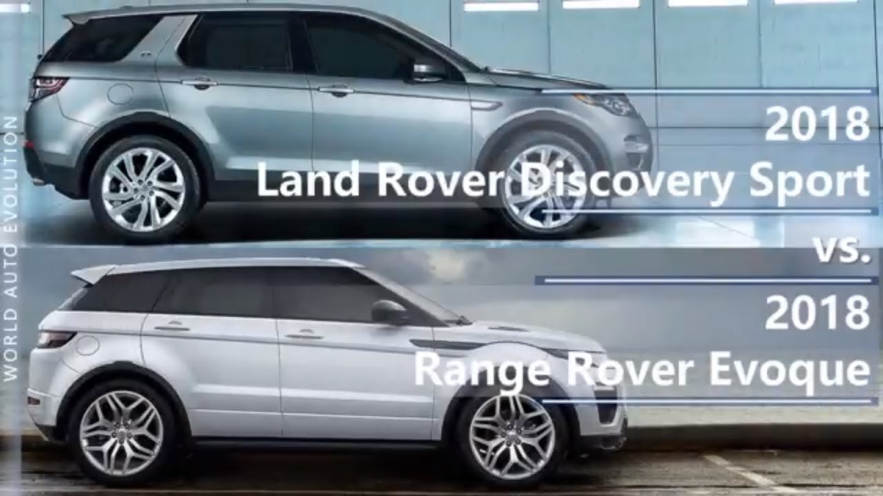 2018 land rover discovery sport vs range rover evoque technical comparison youtube. Black Bedroom Furniture Sets. Home Design Ideas