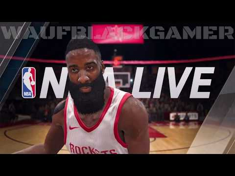 NBA LIVE 18 - NBA - WNBA - Basketball - B Ball - Playoffs - Replays (Demo) [PS4 PRO] {2017}