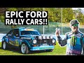 Vintage Ford Rally Cars Get Raced! Epic Collection of Escorts, WRC Focus, + More at RallyLegend 2019