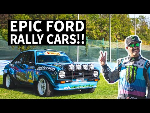 Vintage Ford Rally