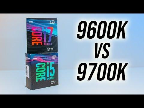 Intel I5-9600K Vs I7-9700K Comparison - 6 Or 8 CPU Cores?