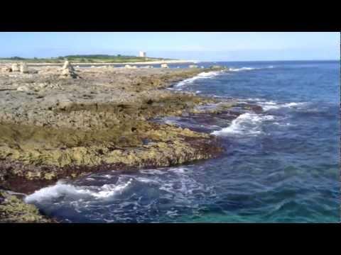 Beautiful Waves of the Mediterranean Sea - 1 Hour long (Full-HD)