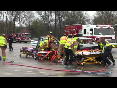 Mayfield High School Mock Crash