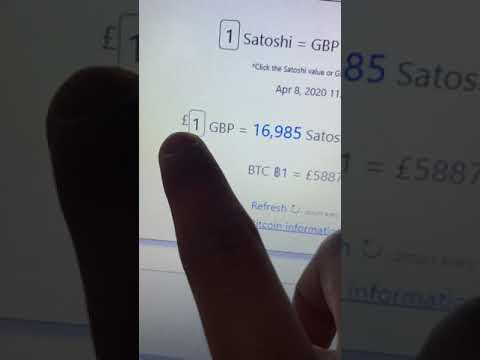 Bitcoin (satoshi) Conversion Time FIAT Currency Explained. (PKR, USD And GBP).