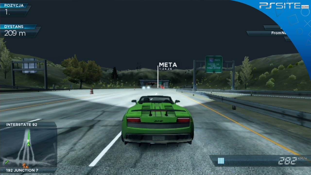 PS Site com: Need for Speed: Most Wanted | PS Vita Race Gameplay
